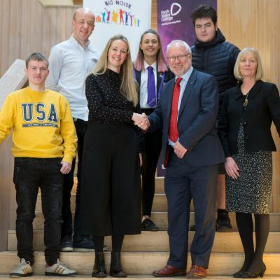 Partnership with Forth Valley College